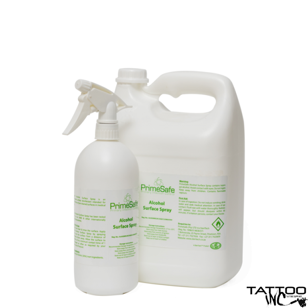 Isopropyl alcohol at a level of 70%  Isopropyl alcohol Surface spray 1L
