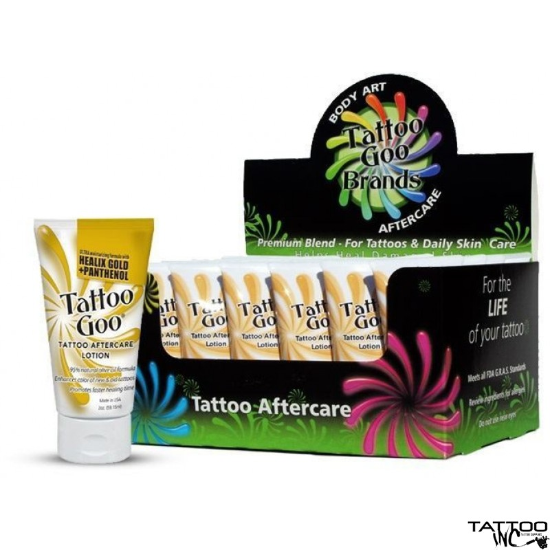 Tattoo Goo Lotion 24 X 2oz Tubes After Care Lotions And Numbing