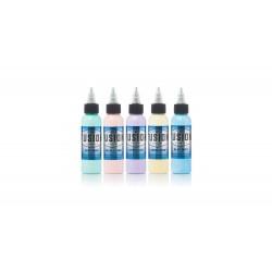 Fusion Ink - Pastel Set — 5 1oz Bottles