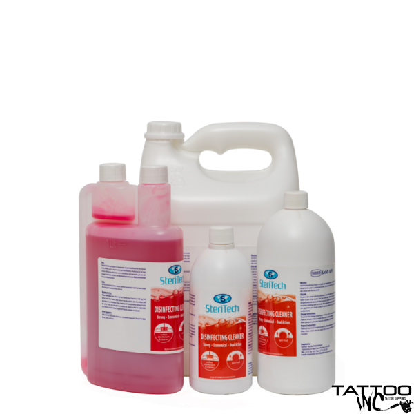 SteriTech Disinfecting Cleaner 1 Litre Dosing Bottle (Concentrate)