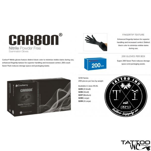 Gloves Nitrile Carbon® 200 Box