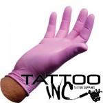 Gloves Henry Schein Nitrile Glove Pink Bubblegum box 100