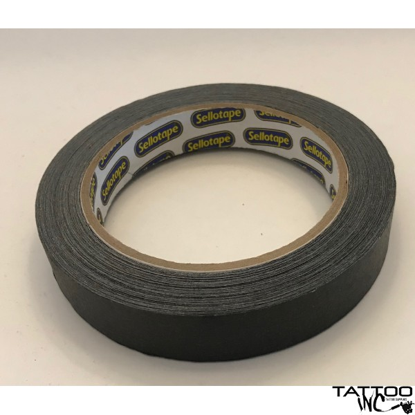 Masking tape BLACK 18mm X 50m roll