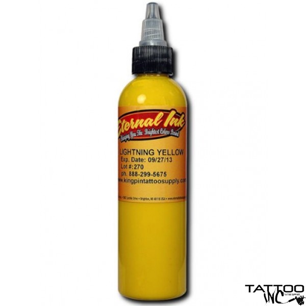 Eternal Tattoo Ink Lightning Yellow -  (2oz)