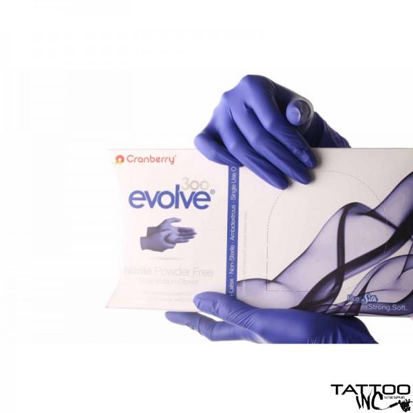 GLOVES CRANBERRY EVOLVE NITRILE 300/BX