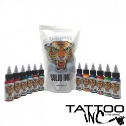 Solid Ink — Chris Garver 12 Color Set 1oz Bottles