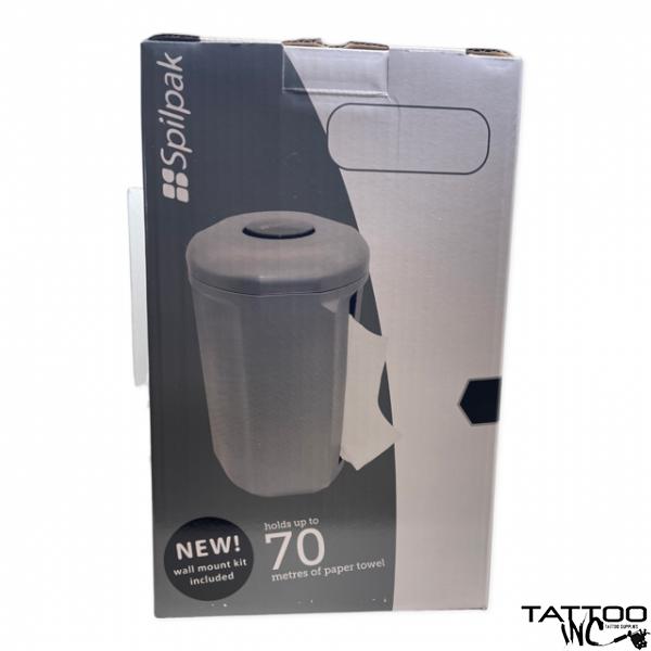 Spilpak Towel Holder & 1 Roll of Spilpak Paper