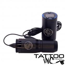 Black Dog V4 Wireless Cartridge Tattoo Pen (Magnetic Clipcord)