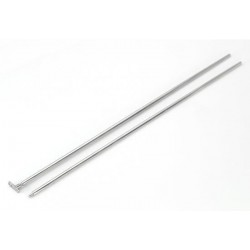 14g Threaded Taper for Internally threaded Jewelry, Dermal Anchors, etc..